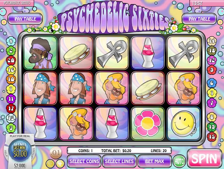 Psychedelic Sixties Slot