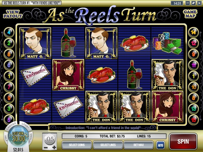 As the Reels Turn 1: With Friends Like You Slot