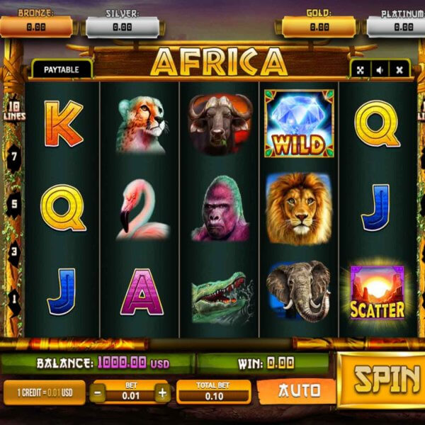 Africa Gold Slot