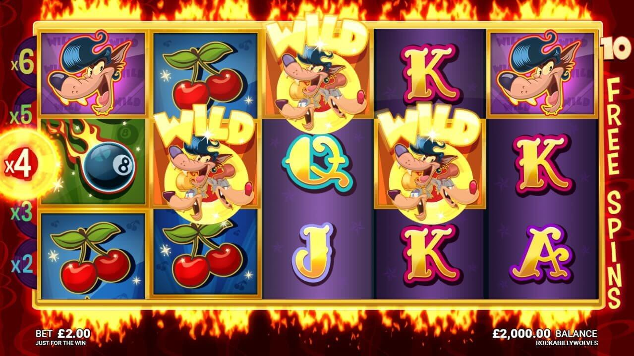 Rockabilly Wolves Slot